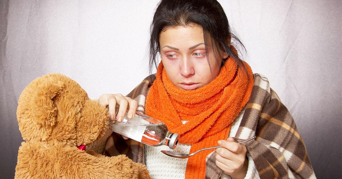 家庭内感染(インフルエンザ)